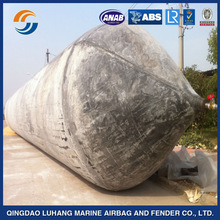 Qingdao Luhang marine rubber airbags ship lift air bags