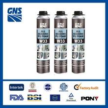 can polyurethane foam spray in insulation