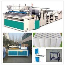 1092mm Tissue Paper Rewinding Machine (Embossing & Perforating)/toilet paper rewinder machine/ bobbin cutter