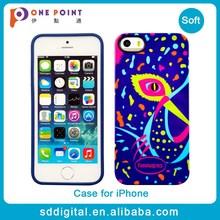 Beautiful 4 inch universal tpu oem phone case for iphone 5s