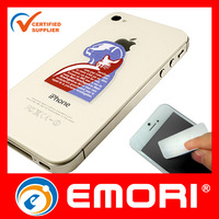 Customized eco-friendly microfiber handphone plush screen cleaner