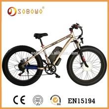 pedal crank fat tire sobowo S19 electric dirt bike sale