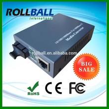 Competitive price cat6 cat5e utp cable 1000M fiber to utp converter