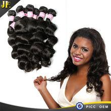 JP Virgin Hair Loose Wave Brazilian Human Cheap Indonesian Hair