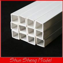 10mm Square Tube ABS Plastic tube 50cm length,model tube,model rod
