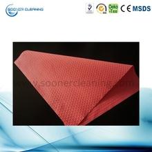 1/4 fold spun lace wipe