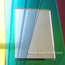 Aluminium mirror with edge polished aluminum mirror sheet