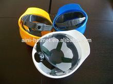 ANP-1: pinlock or ratchet suspension safety helmet