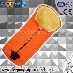 baby infant sleeping bag, Sheepskin Bunting Bag, car seat cover