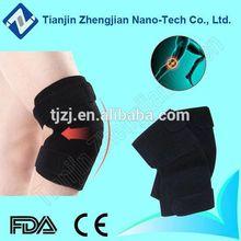 Far infrared nano tourmaline bent surface kneecap