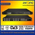 Dexin nds3343c цифровой спутниковый ресивер с mux-scr до qam модулятор