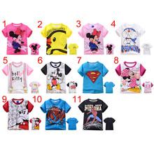 KT16 Summer Cartoon Kids short-sleeved t-shirt children T-shirt