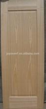 natural ash/black walnut wood glass door design