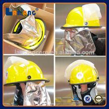 Best Plastic Fireman Safety Professional Fire Fighter Helmet