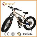 eec موافقة الدهون الاطارات sobowo s19 أدنى سعر الدراجة الكهربائية