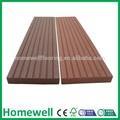 Wpc extrusion de profilés en plastique patio, planchers de bois