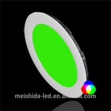 RGB LED Panel Light/6w led round panel light/backlight panel led