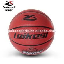 Laminated PU basketball size 7