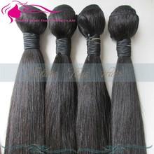 hair weaving Wholesale 100% human hair extension plastic bag packaging