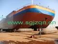 Shouguang jinzheng marke pneumatische marine gummi airbag/schiff startet airbag, schwimmenden ponton