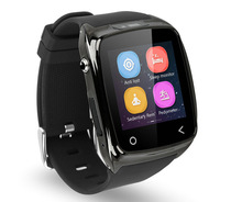 Black Bluetooth Smart Wrist Watch Phone For IOS Android Samsung Phone HTC iradish i8