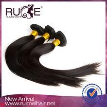 6A weaving sew machine tangle free no shed hair weaving 100% human hair silky yaki perm weave