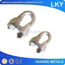 Rigging Hardware Galvanized U.S. Type Malleable Wire Rope Clip