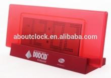 Big screen cheap desk clock/table alarm clock/jumbo digital clocks