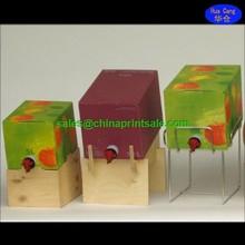 Hot sale custom bag in box wine cooler dispenser for wine /juice /water