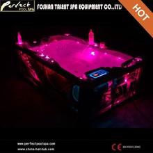 Special design!!dual zone swim spa portabl spa two person outdoor spa bathtub