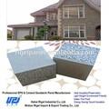 De baixo custo casas modulares pré-fabricados de painéis de parede interior