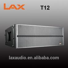 High end B&C driver neodymium 3 way line array speaker box/LAX audio in China