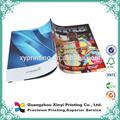 A todo Color caliente el producto de encargo impresión Offset chino de la motocicleta catálogo