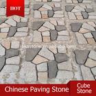 natural China granite porphyry cube stone, paving stone, cheap porphy cube stone