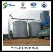 Steel used for grain storage tank silo