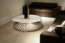 diamond decoration coffee table decorative metal coffee table