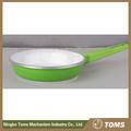 Morir- fundición no- palo de utensilios de cocina de hierro fundido sartén con doble mango de cerámica