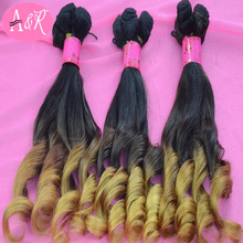 Shengye hair New year promotional activities human remy hair extensions ombre aunt funmi hair