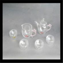 New Design Fashion Heat Resist Glass Tea Pot / Borosilicate glass tea pots