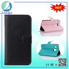 Smart newest leather cover flip wallet case for motorola moto g