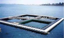 marine plastic aquaculture fish cages
