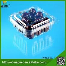 New design fashion low price pet plastic fruit gift box