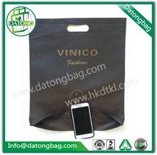 Jumbo bag manufacturer make tea promotional sport bag with die cut handle