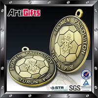 Good quality metal plaque medallion series standup custom wording