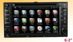 car stereo for kia carnival gps system Android 4.4 ,RDS Telephone book,AUX IN,GPS,3G,Built-in WIFI Dongle