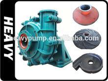 Rubber slurry pump parts natural rubber impeller spares parts