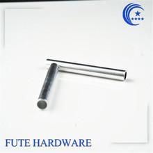 custom auto machined steel headless knurled hardware pin