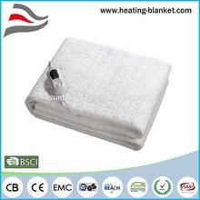 3 Temperature Settings 200x90cm 60W Super Cosy Fleece King Electric Blanket