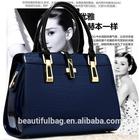 Fashion Luxury Top Crocodile Grain Patent Leather Women Handbag Ladies Hight Art Women Shoulder Bag