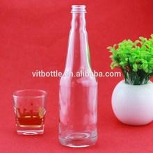 white liquor bottle 500ml for mojito bottle